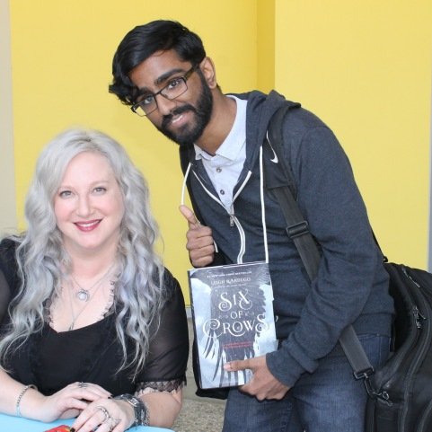 Leigh Bardugo and Lashaan!