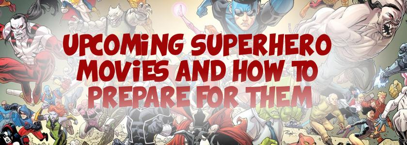 upcoming superhero movies wiki