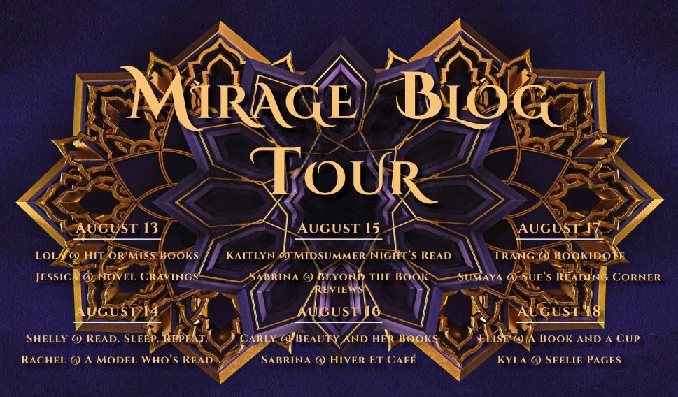 Mirage Blog Evite