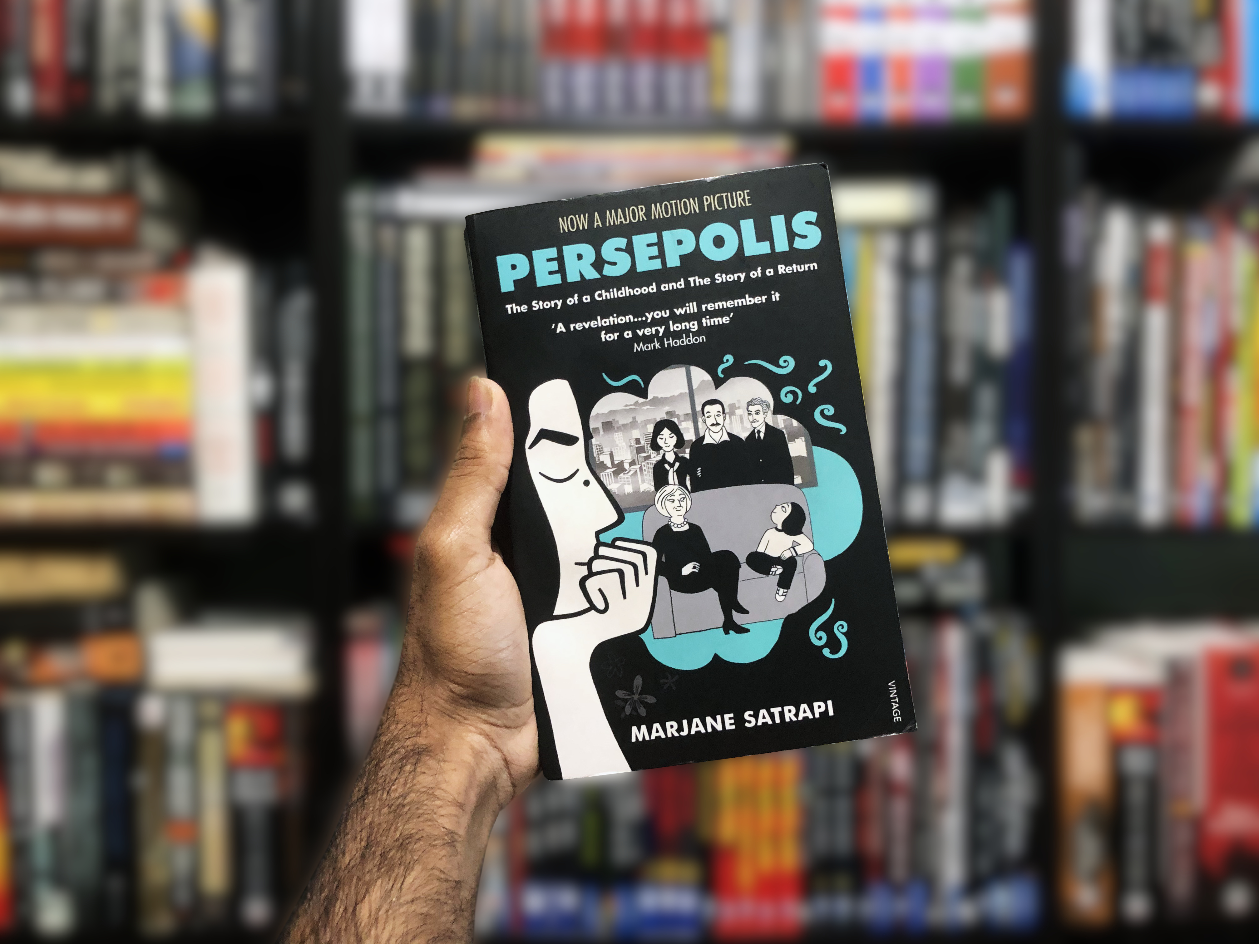 Persepolis The Story Of A Childhood And The Story Of A Return By Marjane Satrapi Bookidote